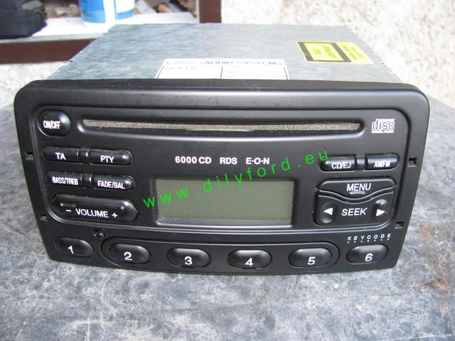 Autorádio Ford 6000CD RDS
